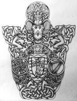 Celtic Coat of Arms by Tattoo-Design
