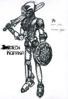 Mech Kopaka by JadeMatrix