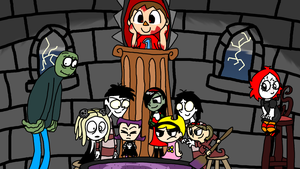 Fanart Month 5: Creepy Characters by nicholangelo