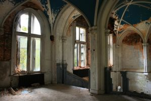 Urbex : Interior of Miranda by exkub