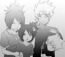 .:The Hatake Family:. by KickBass77