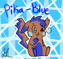 Pika-Blue by BlueshinetheKat