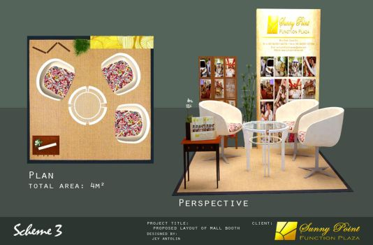 SUNNY POINT FUNCTION PLAZA MALL BOOTH - SCHEME 3 by rj-king