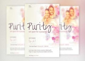 Purity Flyer Poster Template by Godserv