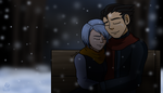 C: Snowy Hearts by Aileen-Rose