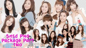SNSD PNG PACK by YoonAsGeneration