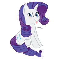 Cute Rarity by Gratlofatic