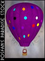 Hot Air Balloon 006 by poserfan-stock