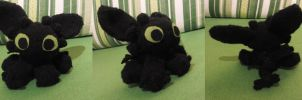 toothless amigurumi by Stop-wasting-time
