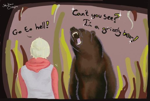 Silent Hill Revelation - I'm a bear! by StudiousOctopus