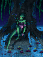Comm--Moonlight on the Bayou by Zerna