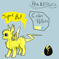 Mystery Egg Adopt 11: Spark Ball by SweetMint9