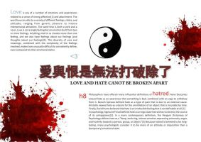 love and h8 _red chinese by urbanoantunes