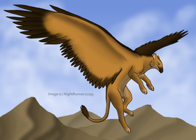 Mountain Gryphon by Morgan-Michele