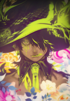 [LargeArt] Smoke Flower Everyday by Gahlis