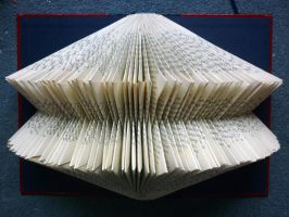 Folded Book: Rebecca by FoldedBookshop