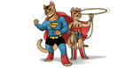 School Project: SUPER CATS by RomyvdHel-Art