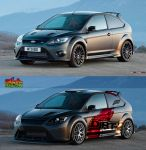 Ford Focus, virtual tuning by sharkurban
