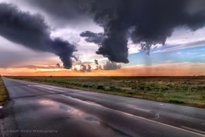 Storm Dissipation by MattGranzPhotography