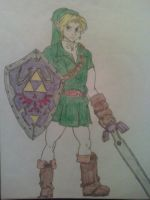 Link Basic Pose by fanofetcetera