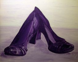 Shoe Study by Senshisoldier