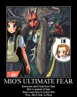 Mio's Ultimate Fear motivator by JJWcool
