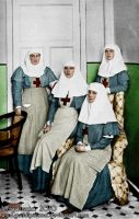 Four Nurses by GuddiPoland