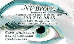 NVBrows Bsuiness Card Front by bassgeisha