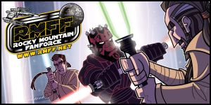 Commish - RMFF Starfest Banner by JoeHoganArt