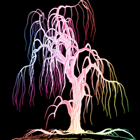 RAINBOW TREE WP by Sierrafails