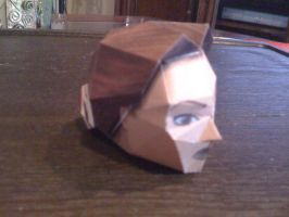 Lara Croft head Completed by SaschaCraft
