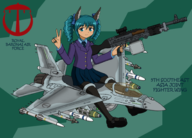 Machine Daughter - F-16 by pauldy