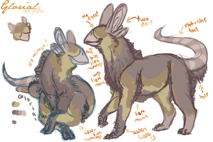 Glorial Quick Ref by Piranis