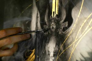 Fatae... Work in progress 3... Goddess by Yoann-Lossel