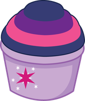 Sparkle Cupcake by ShadowFoxGraphics