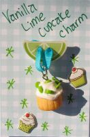 lime cupcake packaging by MotherMayIjewelry