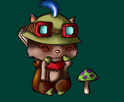 Teemo by NerdyNation