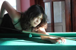 Maya and billiard 9 by Panopticon-Stock