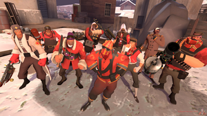 My Winter TF2 Loadouts by SagaHanson25