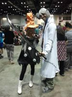 Megacon 2014: Dr.Stein And Eruka cosplay by Oblivion-Evil
