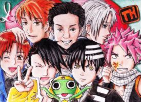 *TEAM HABERKORN Fan Art(colored version)* by AniMusision