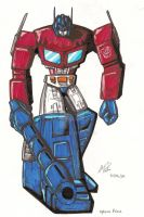 Optimus Prime by Wyn83