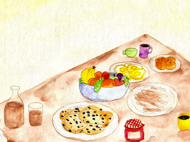Breakfast Table by ChiuuChiuu