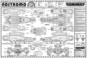 USCSS Nostromo by Hydride-Ion