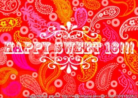 happy sweet sixteen by Natashaestelle
