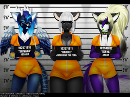 Collab: Bad Bitches Line Up by xXMTeeXx