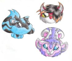 Crayon Animals by Synchro593