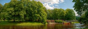 Park in Riga by Janhouse