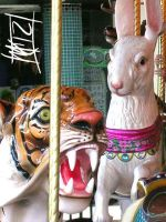 Wolfchase Mall Carousel by semie