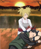 Wake up  Shikamaru (Temari) by stork-sai